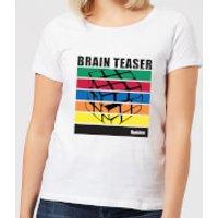 Rubik's Brain Teaser Women's T-Shirt - White - XS - White
