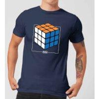 Rubik's Complete Men's T-Shirt - Navy - S - Navy