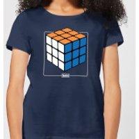 Rubik's Complete Women's T-Shirt - Navy - XL - Navy