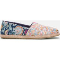TOMS Women's Printed Alpargata Espadrilles - Liberty Amelie/Louis - UK 8 - Multi