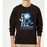 Avengers: Endgame Rocket Suit Sweatshirt - Black - XXL - Black