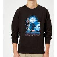 Avengers: Endgame Widow Suit Sweatshirt - Black - 3XL - Black
