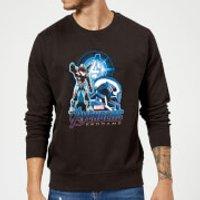 Avengers: Endgame War Machine Suit Sweatshirt - Black - 5XL - Black