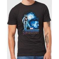 Avengers: Endgame Hawkeye Suit Mens T-Shirt - Black - XL - Black