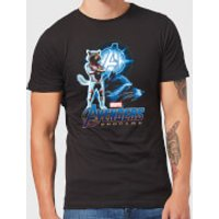Avengers: Endgame Rocket Suit Mens T-Shirt - Black - S - Black