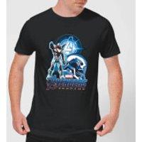 Avengers: Endgame War Machine Suit Mens T-Shirt - Black - 3XL - Black