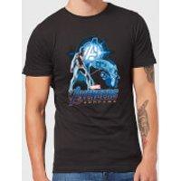 Avengers: Endgame Nebula Suit Mens T-Shirt - Black - 3XL - Black