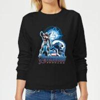 Avengers: Endgame War Machine Suit Women's Sweatshirt - Black - L - Black