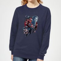 Avengers: Endgame Shield Team Women's Sweatshirt - Navy - L - Navy