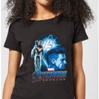 Avengers: Endgame Hawkeye Suit Women's T-Shirt - Black - XL - Black