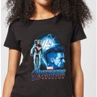 Avengers: Endgame Hawkeye Suit Women's T-Shirt - Black - XL - Black