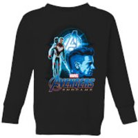 Avengers: Endgame Hawkeye Suit Kids Sweatshirt - Black - 9-10 Years - Black