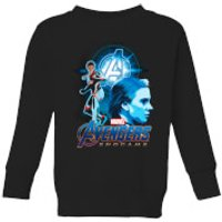 Avengers: Endgame Widow Suit Kids Sweatshirt - Black - 9-10 Years - Black