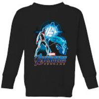 Avengers: Endgame Nebula Suit Kids Sweatshirt - Black - 7-8 Years - Black