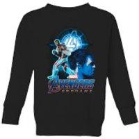 Avengers: Endgame Hulk Suit Kids Sweatshirt - Black - 11-12 Years - Black