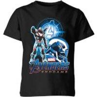 Avengers: Endgame War Machine Suit Kids T-Shirt - Black - 9-10 Years - Black