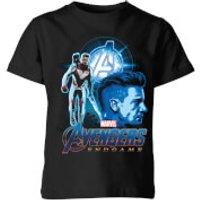 Avengers: Endgame Hawkeye Suit Kids T-Shirt - Black - 3-4 Years - Black