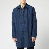 PS Paul Smith Men's Mac - Inky - L - Blue