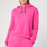 Superdry Women's Elissa Cropped Hoodie - Sienna Pink - UK 12 - Pink