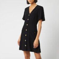 Superdry Women's Darcy Button Through Dress - Black - UK 8 - Black