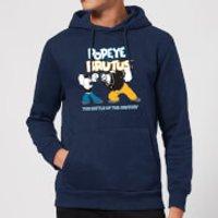 Popeye Popeye Vs Brutus Hoodie - Navy - XXL - Navy
