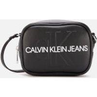 Calvin Klein Jeans Monogram Camera Bag - Black