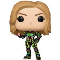 Marvel Captain Marvel Neon Suit Pop! Vinyl Figure - Neon Gifts