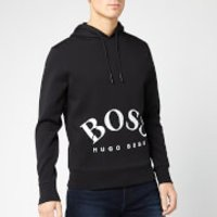 BOSS Men's Sly Hooded Sweatshirt - Black/White - S