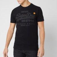 Superdry Men's Premium Goods Tonal T-Shirt - Black - L