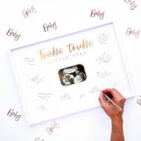 Ginger Ray Twinkle Twinkle Guest Book Frame - Ginger Gifts