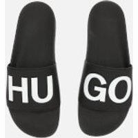 HUGO Men's Timeout Slide Sandals - Black - UK 9