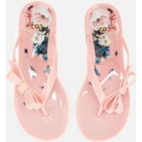 Ted Baker Women's Suzzip Bow Flip Flops - Light Pink - UK 8 - Pink