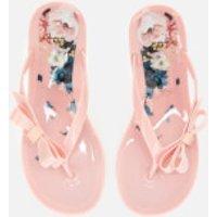 Ted Baker Women's Suzzip Bow Flip Flops - Light Pink - UK 7 - Pink