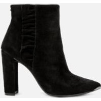 Ted Baker Women's Frillis Suede Heeled Ankle Boots - Black - UK 5 - Black