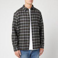 A.P.C. Men's Land Overshirt - Kaki Militaire - S