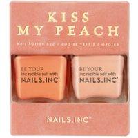 nails inc. Kiss my Peach Nail Varnish Duo 2 x 14ml