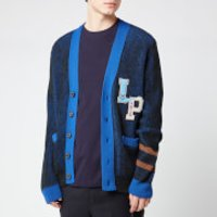 Lanvin Men's Varsity Cardigan - Anthracite Blue - L - Blue