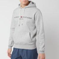 Tommy Hilfiger Men's Tommy Logo Hoodie - Cloud Heather - M - Grey