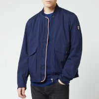 Tommy Hilfiger Men's Stretch Field Bomber Jacket - Maritime Blue - L - Blue