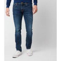 Tommy Hilfiger Men's Straight Denton Pstr Jeans - Port Blue - W32/L32 - Blue