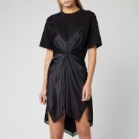 Alexander Wang Cinched T-shirt Slip Dress - Black