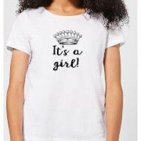 It's A Girl Women's T-Shirt - White - 5XL - White
