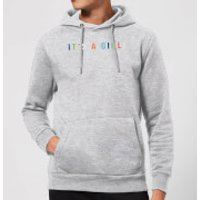 It's A Girl Hoodie - Grey - S - Grey