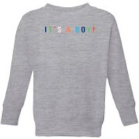 It's A Boy Kids' Sweatshirt - Grey - 7-8 Years - Grey
