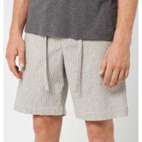 Orlebar Brown Men's Harton Stripe Shorts - Pewter/Shell - W34/L - Grey
