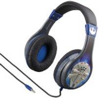 Star Wars Millennium Falcon Headphones with Kid Safe Technology