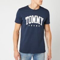 Tommy Jeans Men's Essential Logo T-Shirt - Black Iris - S - Blue