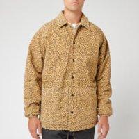 YMC Men's Leopard Print Suede Jocks Jacket - Tan - S - Tan