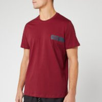 BOSS Men's Logo T-Shirt - Burgundy - L