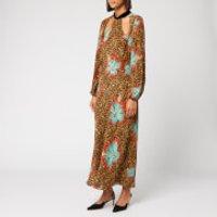 RIXO Women's Teri Maxi Dress - Hawaii Giraffe Print - M